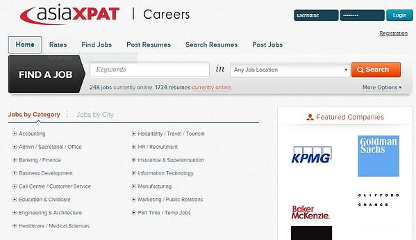 Top Websites to Find a Job in China-AsiaXPAT