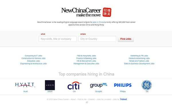 Top Websites to Find a Job in China-New China Career