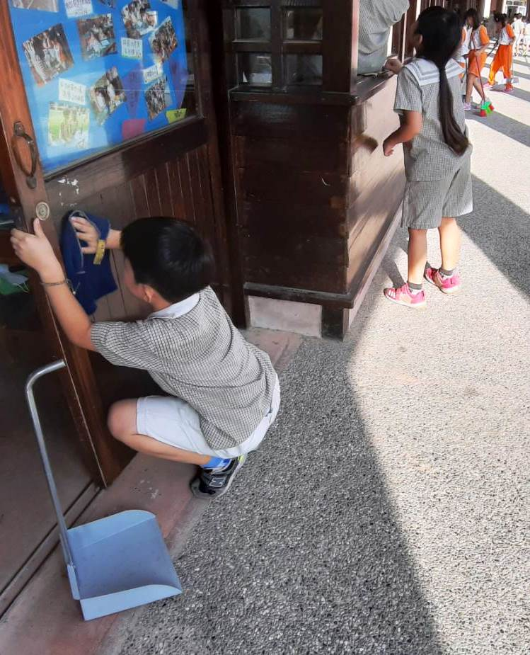 chinese school cleaning duty