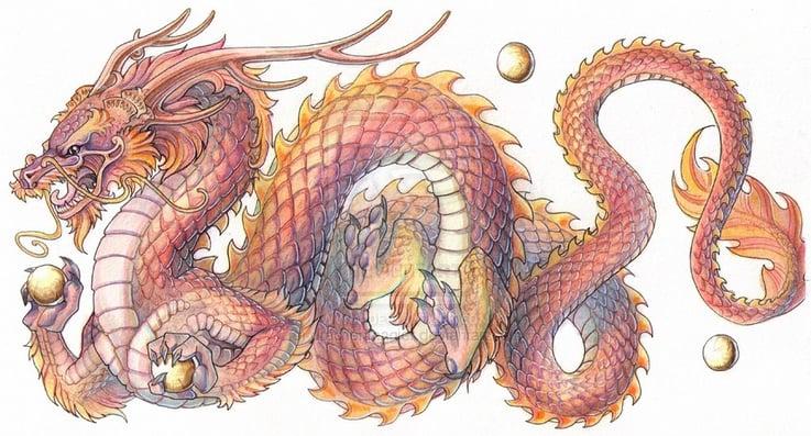 Brave Dragon Minecraft Mob Skin