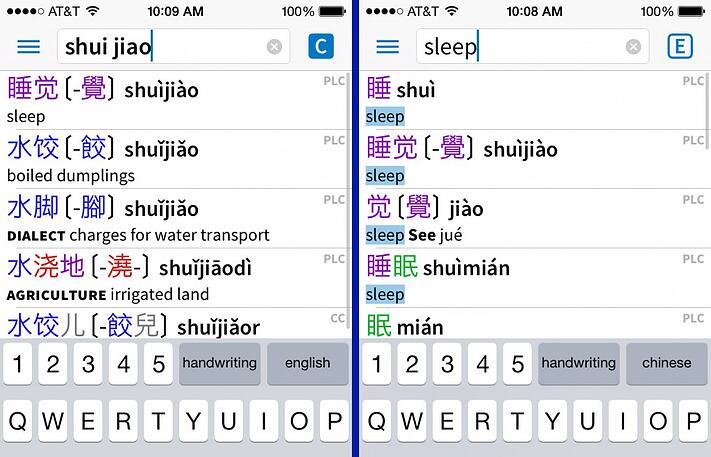 Top 5 Chinese Dictionary Apps