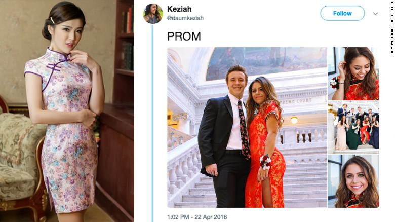 3c2af22d9 Recently, a Caucasian high school student in Utah stirred up controversy  for wearing a qipao to prom, sparking another debate on cultural  appreciation vs. ...