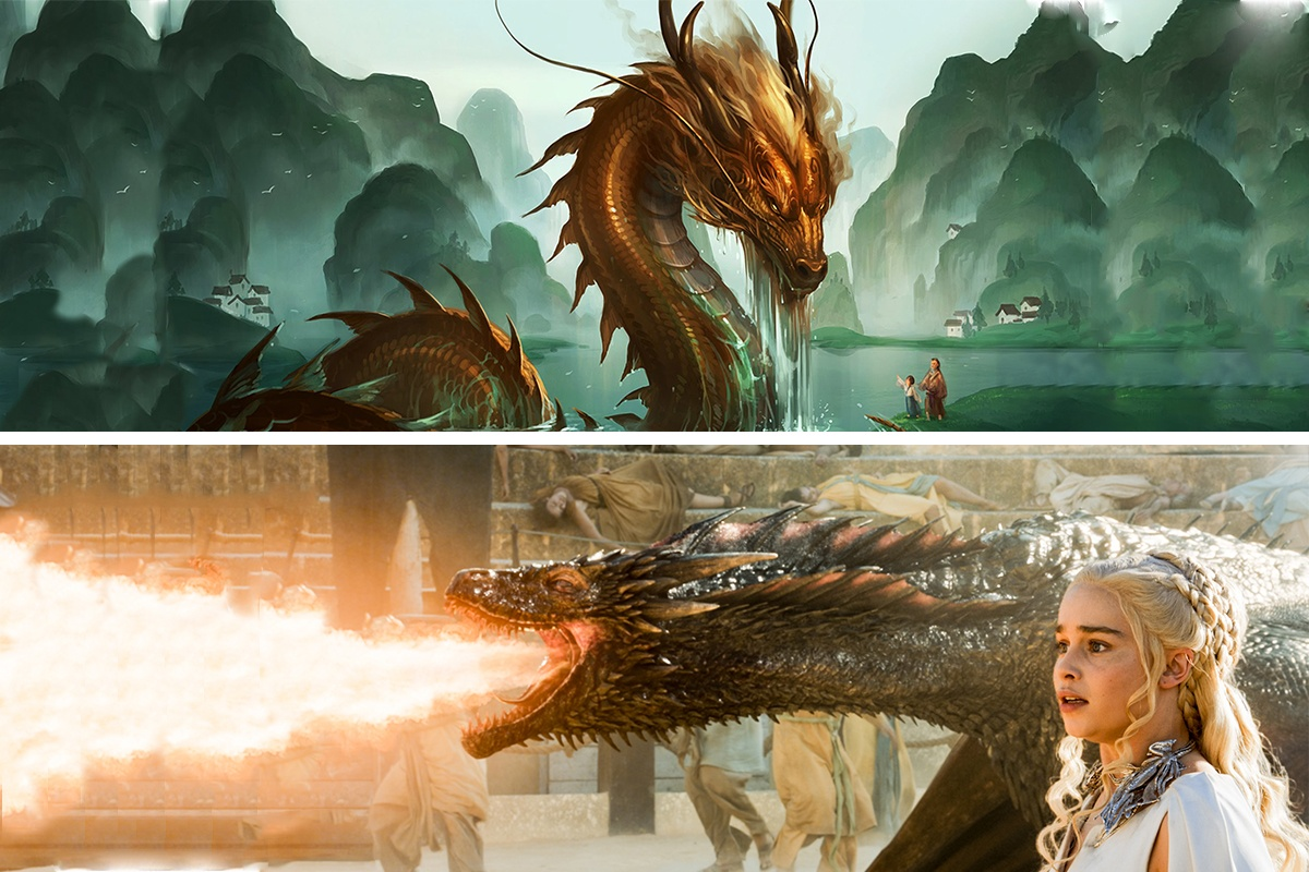 Difference between a chinese dragon and a western dragon buycottarizona Choice Image