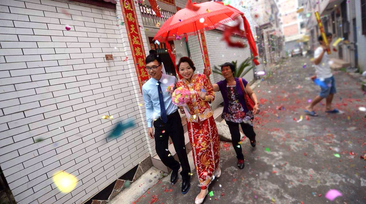 Naked chinese weddings are mistaken
